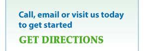 Call, email or visit us today to get started - Get directions